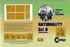 Nationality Set #8 - Japanese Army, Mustard