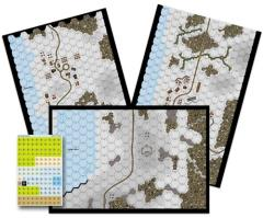 Spanish Blue Division - Winterized Map Set