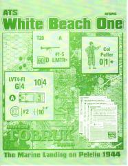 White Beach One - Peleliu 1944 (Cardstock Map Edition)