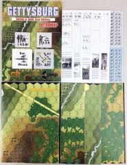 Gettysburg - Devil's Den Expansion (2nd Edition, Retro Map Edition)