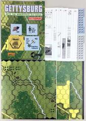 Gettysburg - Into the Wheatfield Expansion (2nd Edition, Retro Map Edition)