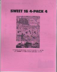 Sweet 16 4-Pack #4