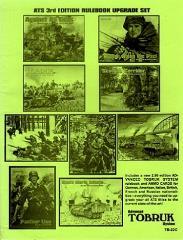Advanced Tobruk Rulebook Upgrade Set (3rd Edition)