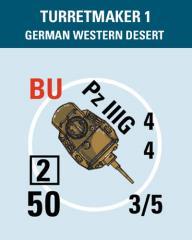 Turretmaker #1 - German/Italian Western Desert