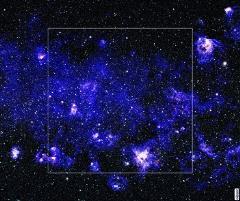 "60 x 50"" Blue Stars - Starfighter"