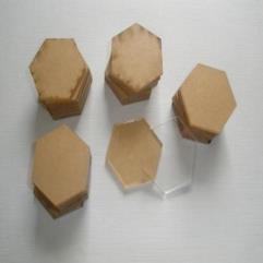 1.25'' Acrylic Hex Bases