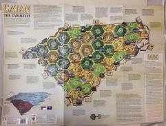 Catan Geographies - The Carolinas
