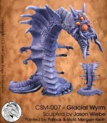 Glacial Wyrm (Resin)