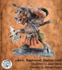 Baphomet - Demon Lord (Resin)