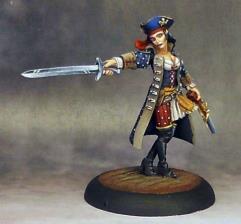 Bethany Razor - Pirate Captain