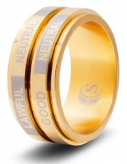 Alignment Ring - Gold, Size 8