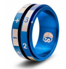 Dice Ring - Blue, Size 13 (FATE)