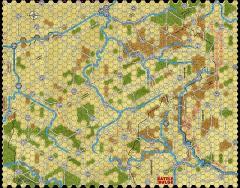 "Battle of the Bulge '81 - 1/2"" Summer Map"