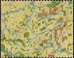 "Battle of the Bulge '81 - 5/8"" Summer Map"