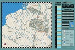 France 1940 Map - John Cooper