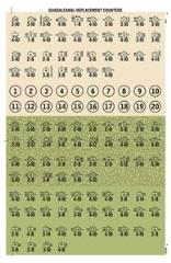 Guadalcanal Replacement Counters - New Colors