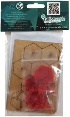 30mm Aleph Bases - Red