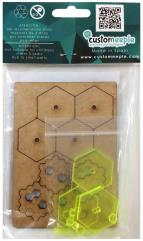 30mm HEX Bases - Yellow