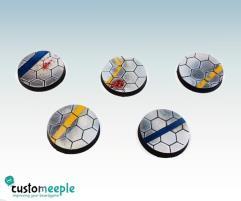 25mm Base Tops - Hexagonal