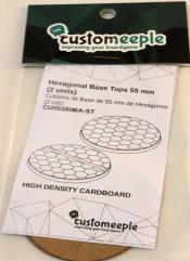 55mm Base Tops - Hexagonal
