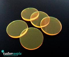25mm Bases - Yellow