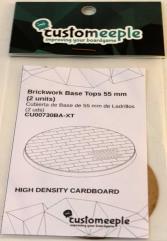 55mm Base Tops - Brickwork