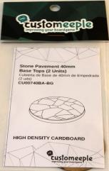 40mm Base Tops - Stone Pavement