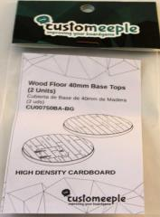 40mm Base Tops - Wood Floor