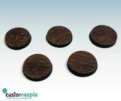 25mm Base Tops - Wood Floor