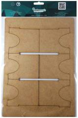 IXENO Insert Dividers - 6 Single Dividers