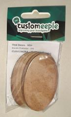 35mm x 60mm Oval Bases