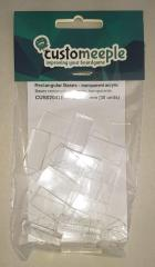 12.5mm x 25mm Rectangular Bases