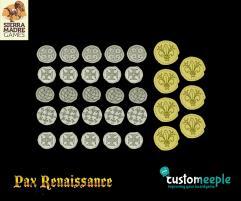 Pax Renaissance Deluxe Coins - West