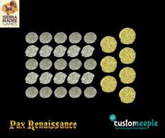Pax Renaissance Deluxe Coins - Mixed