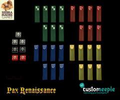 Pax Renaissance Deluxe Tokens