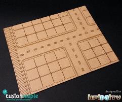 Diorama Floor - Science Lab