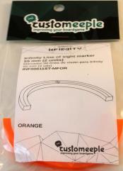 55mm Line of Sight Markers - Orange