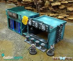 Neon City - Two Small Yu-Jing Building Pack #2