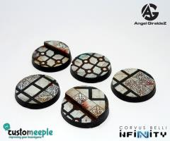 25mm Base Tops - Military Orders