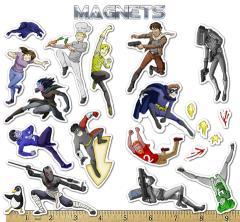 Ctrl+Alt+Del Magnets Set