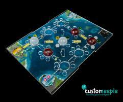 Underwater Cities Compatible Overlay - Standard Board