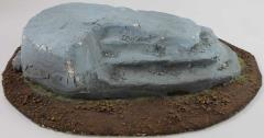 Custom Made Large Rock Terrain Piece #2