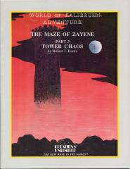 Maze of Zayene #3 - Tower of Chaos (1st Printing)