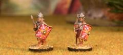 Legionary 6 - Advancing w/Pilum Segmented Armor