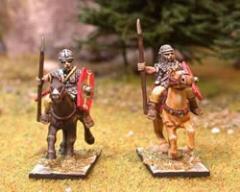 Roman Cavalry 2 - Chainmail & Hexagonal Shield