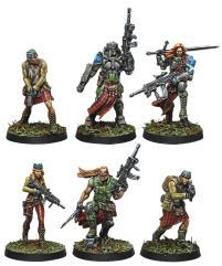 Caledonian Highlander Army - Ariadna Sectorial Starter Pack (Resculpt)