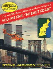 AADA Road Atlas #1 - The East Coast