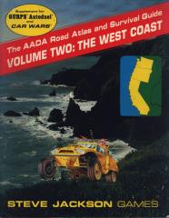 AADA Road Atlas #2 - The West Coast