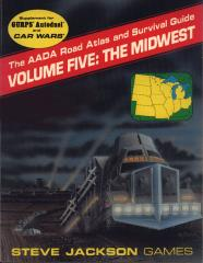 AADA Road Atlas #5 - The Midwest