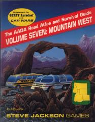 AADA Road Atlas #7 - Mountain West